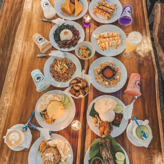 Menu di De'Jati Coffee Garden Bogor
