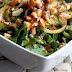 Salade de laitue chinoise vinaigrette aigre-douce