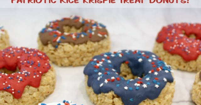 The Partiologist Rice Krispie Donuts
