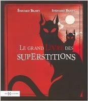 Couverture du libre le grand livre des superstitions