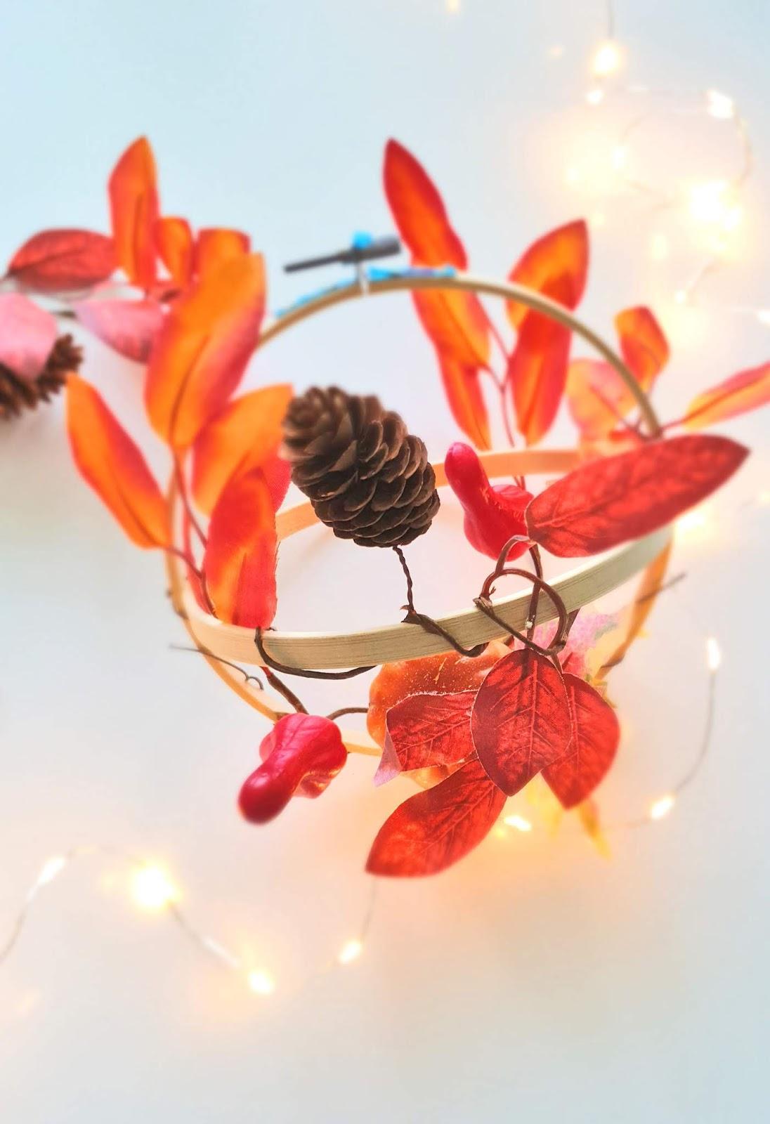 dekorowanie domu na jesień