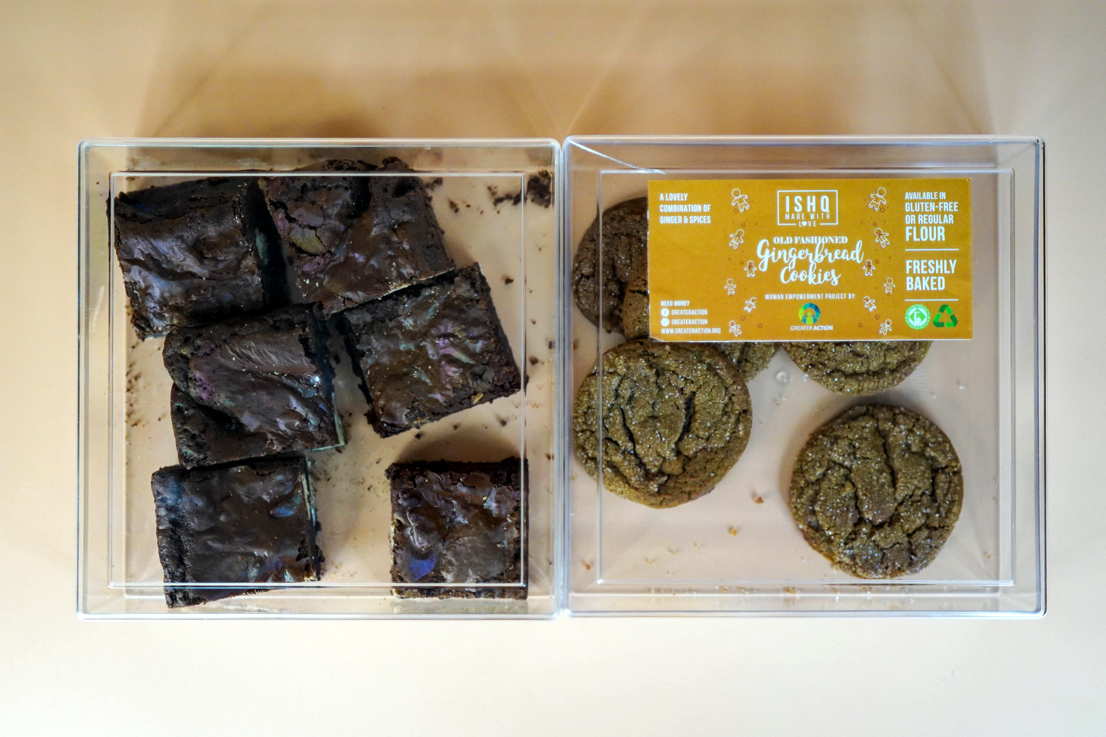 greater action baking: support refugee communities by buying cookies & brownies