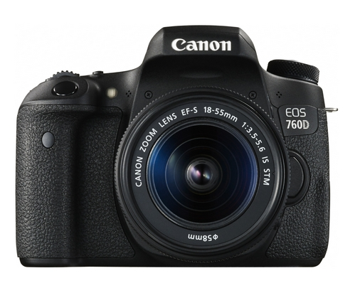 Canon EOS 760D / Rebel T6s DSLR Camera