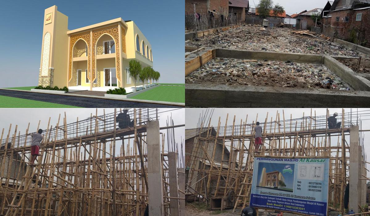 Pembangunan Masjid Al - Kausar