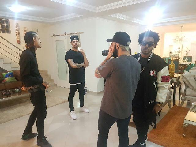 All-Star Brasil grava clipe com rapper de Portugal