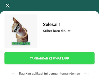 cara mudah membuat stiker whatsapp