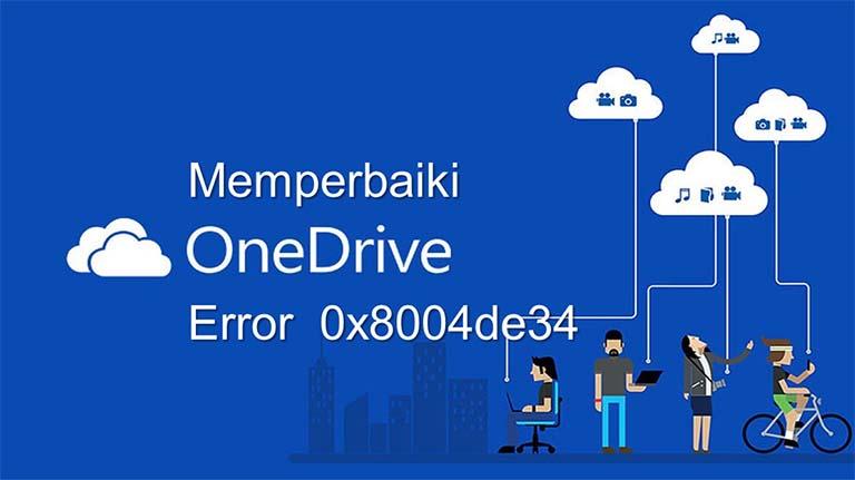 Cara Perbaiki Error 0x8004de34 Pada OneDrive Di Windows 10