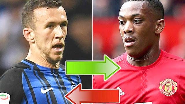 Martial chấp nhận tới Inter giúp MU tiến gần hơn với Perisic