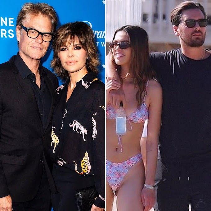 "Lisa Rinna And Harry Hamlin 'Trust' Their Daughter Amelia Gray Hamlin ""To Make Appropriate Decisions"" When It Comes To Her Spending Time With Scott Disick; ""If She's Happy, They're Happy,"" Sources Say!"