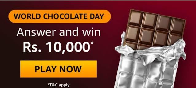 Amazon World Chocolate Day Answers