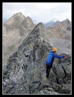 Cresta hacia el Audoubert