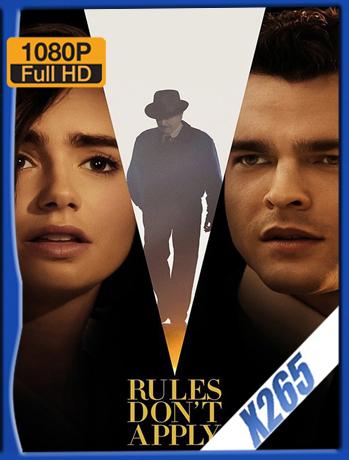 Rules Dont Apply [2016] 1080P Latino [X265_ChrisHD]