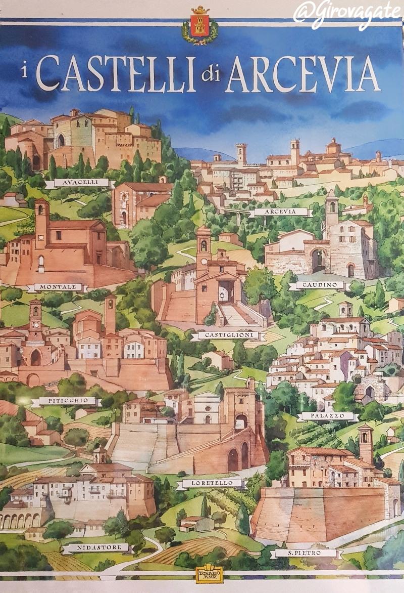 castelli Arcevia Marche