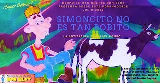 SIMONCITO NO ES TAN BOBITO | Teatrino Don Eloy