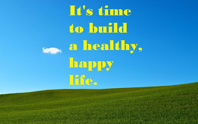 Build a healthy, happy life at TammyTalk.com