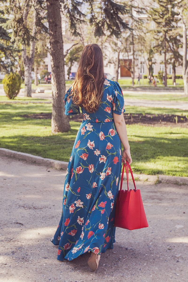 PRIVACY PLEASE PLAZA KIMONO DRESS