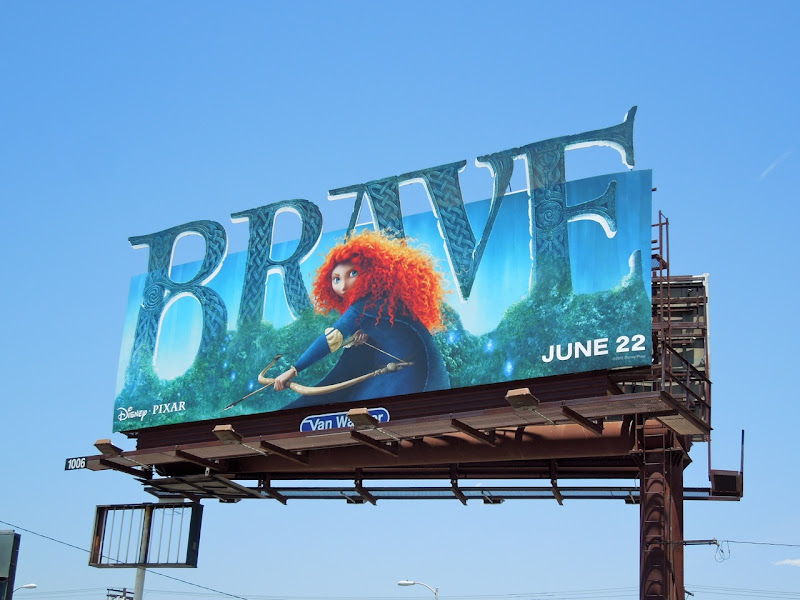 Brave special extension movie billboard
