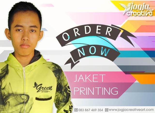Pesan Jaket Printing Berkualitas di Ambon, Maluku