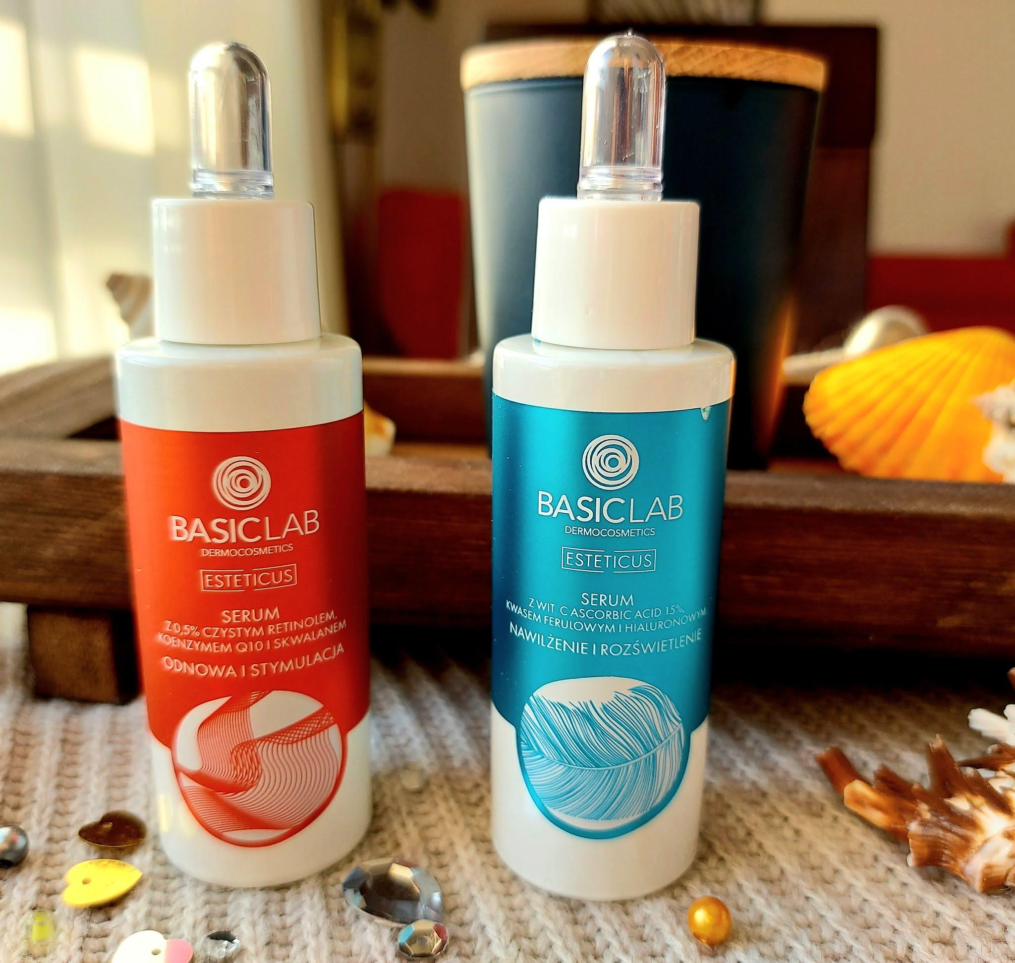 BasicLab - profesjonalne kosmetyki do pielęgnacji. Test serum z 15% witaminą C oraz 0,5% retinolem Aneta Lason Beauty Talks