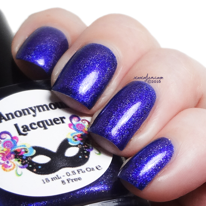 xoxoJen's swatch of Anonymous Lacquer Dream Like a Unicorn