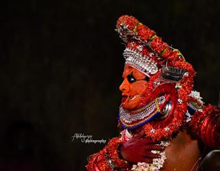 Bhadrakali theyyam images 4
