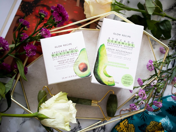 Glow Recipe Avocado Ceramide Recovery Serum & Melt Retinol Eye Sleeping Mask