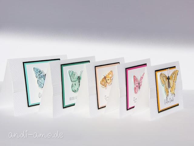 Karten Stampin Up Butterfly Brilliance