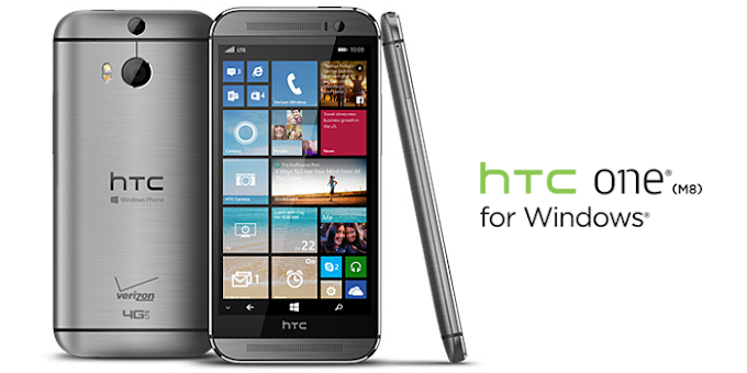 HTC One M8 for Windows on Verizon receives software update