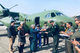 CN-235-220 Buatan RI Terbang di Langit Himalaya