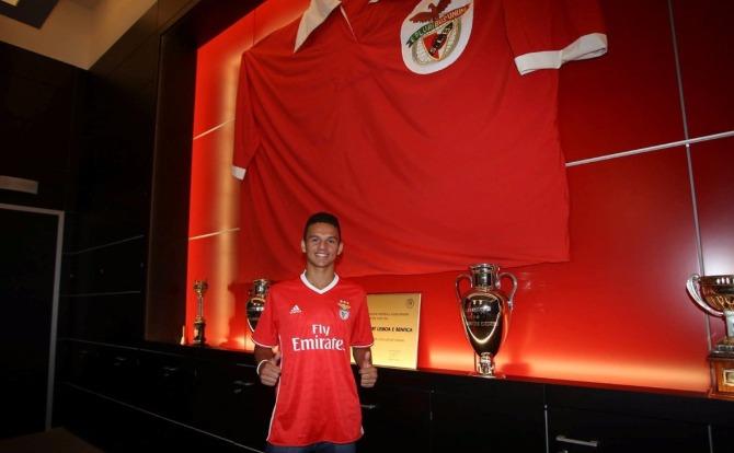 Blog Benfica Gonçalo Ramos assinou contrato profissional