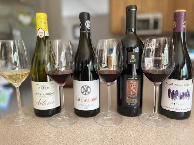 Cotes du Rhone wines
