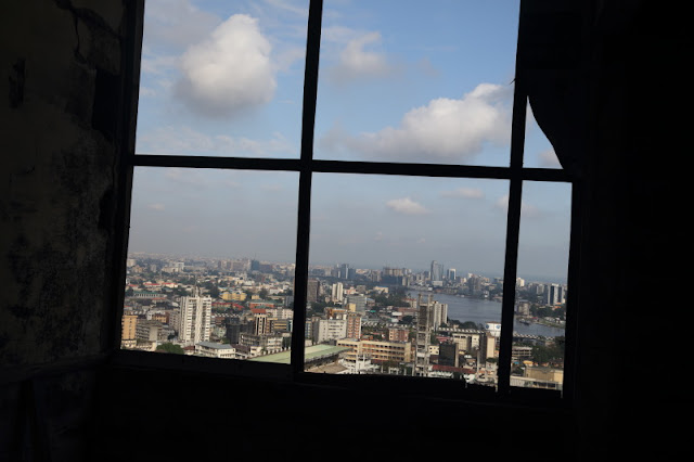 a window on the sky, Ikoyi and Victoria Island