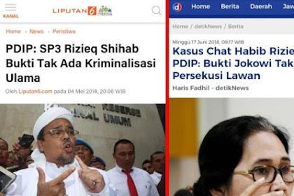 Catatan Menarik! Membaca Manuver Rezim Jokowi Lewat SP3 Habib Rizieq
