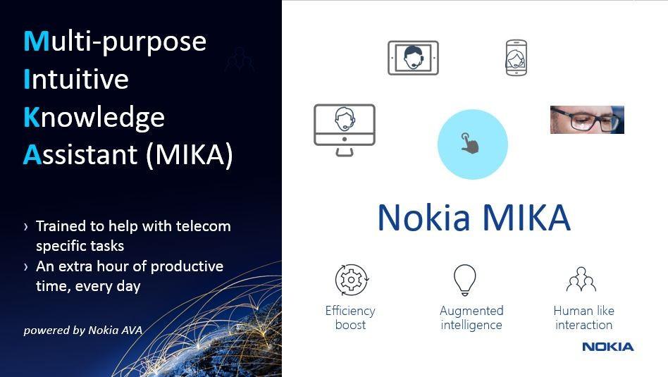 Nokia MIKA, Nokia's digital assistant MIKA and Predictive repair