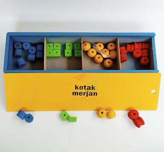 Kotak Merjan Panjang APE