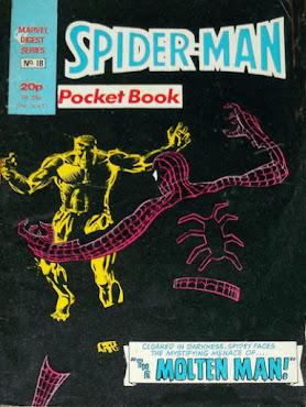Spider-Man pocket book #18, the Molten Man