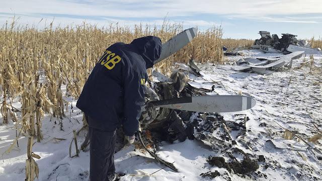 Cuatro generaciones de una familia mueren en una avioneta en EE.UU. cuando regresaban de un viaje de caza