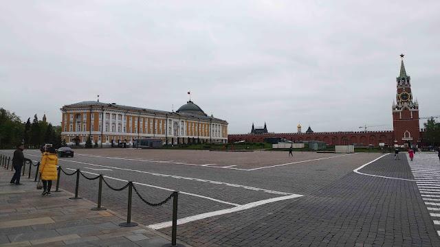Inside Kremlin of Moscow