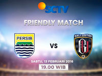 Friendly Match: Persib vs Bali United