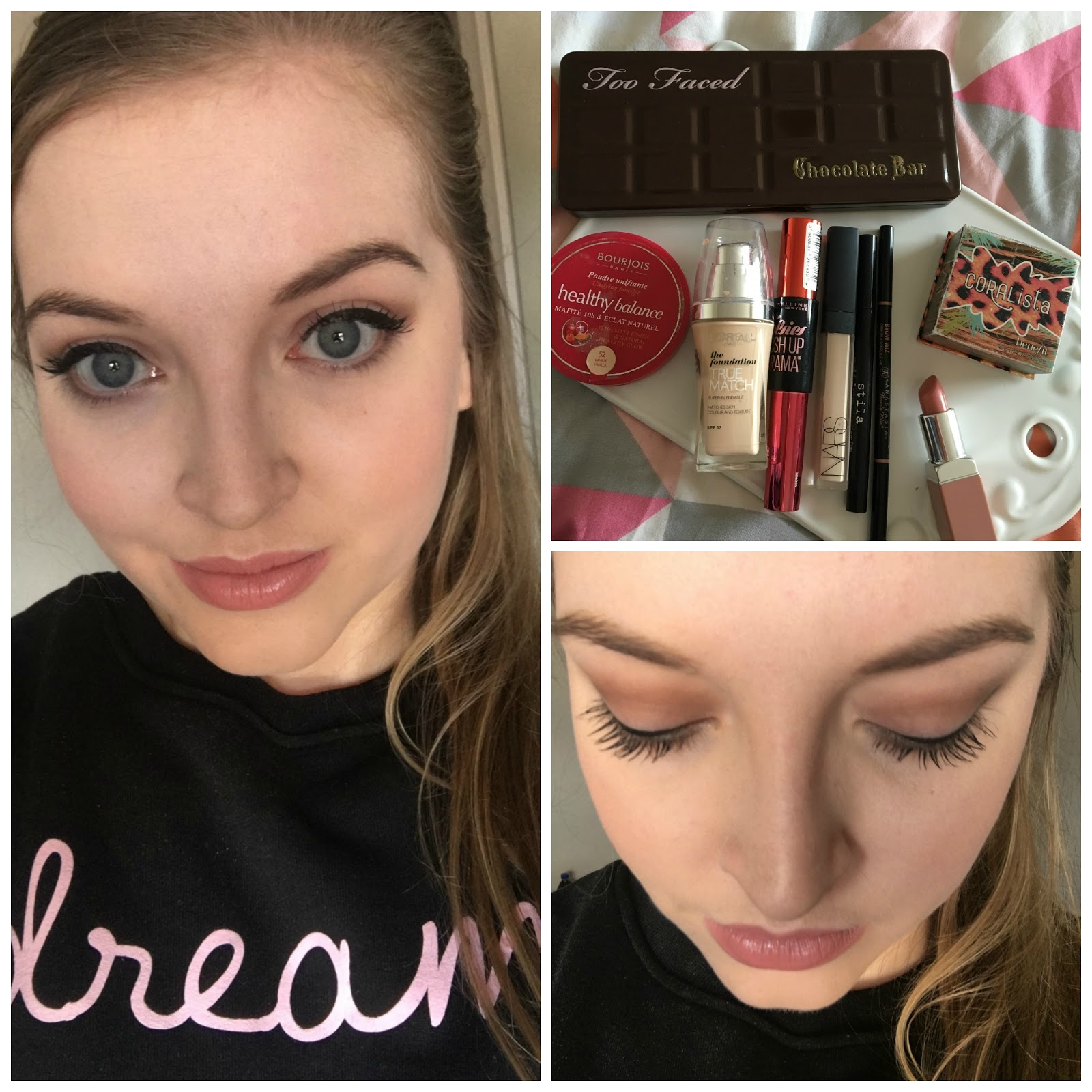 Too faced chocolate bar palette tutorial neutral eye winged first off i tamed and perfected my eyebrows a little with my all time favourite brow product the anastasia beverley hills brow wizz in taupe baditri Images