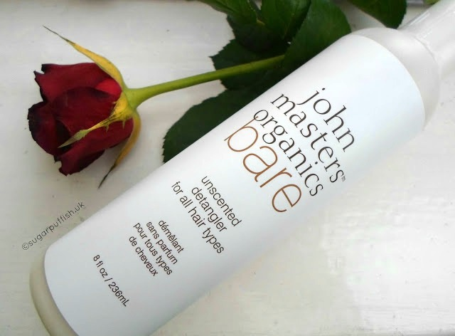Review John Masters Organics Bare Unscented Detangler