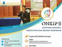 Olimpiade Nasional Kreativitas dan Inovasi Pendidikan Nasional 2019 di UMBY