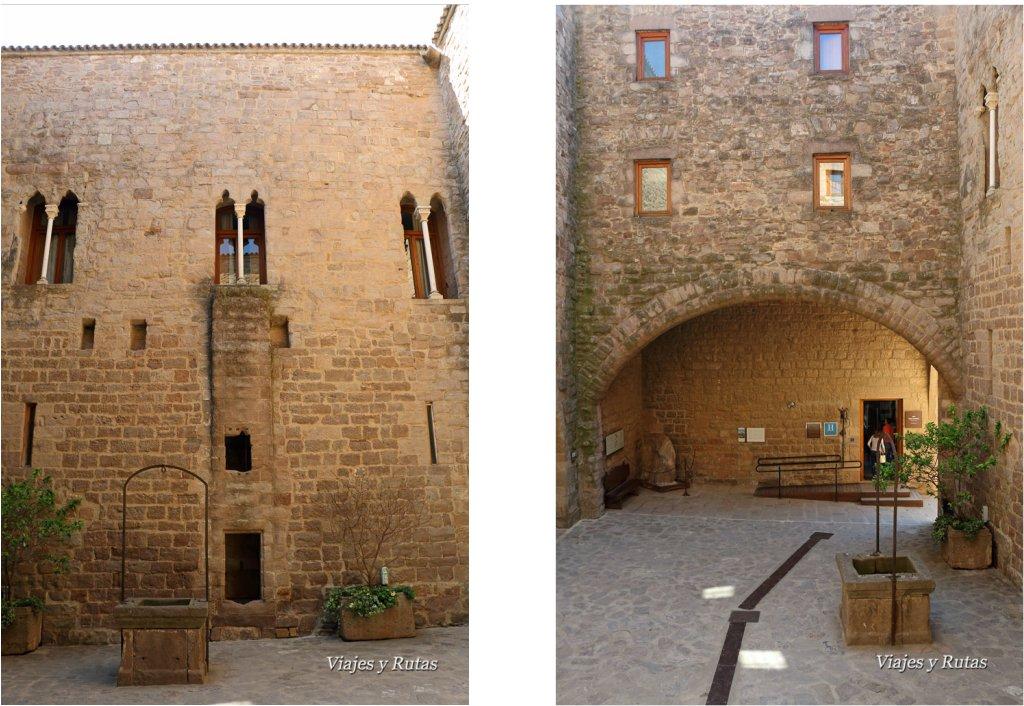 Patio Ducal del castillo de Cardona, Barcelona