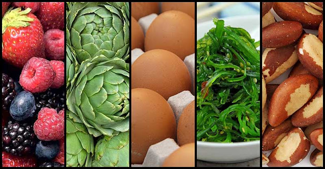 Foods That May Help Keep Our Thyroid's Health