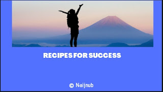 recipes for success