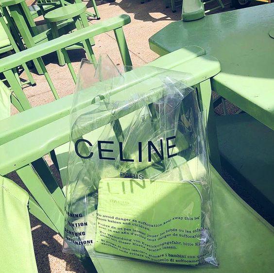 Celine Green Bag
