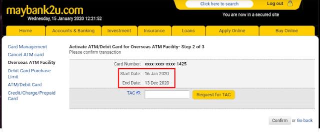 Cara Withdraw duit di mesin ATM Luar Negara
