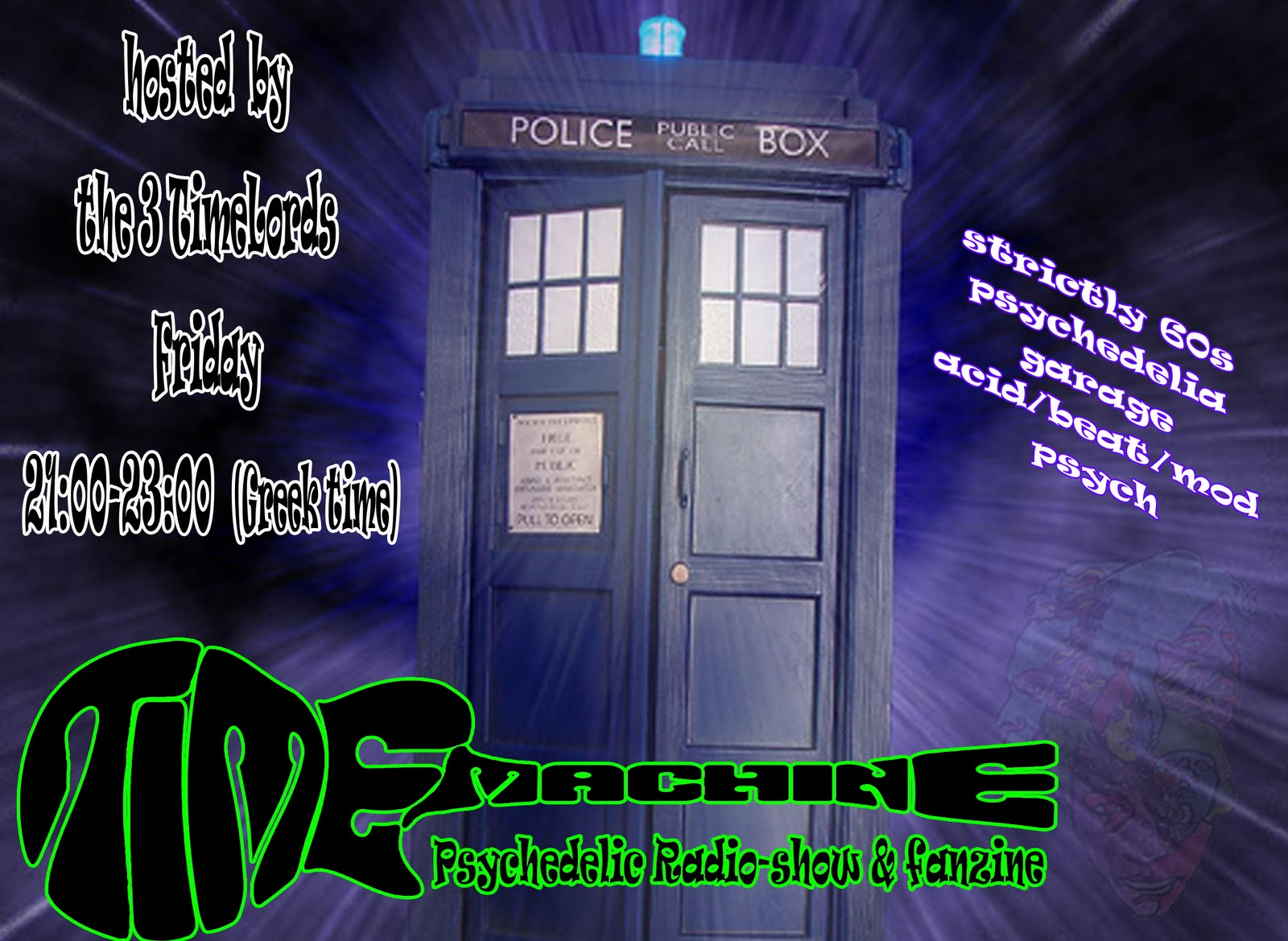 The TimeMachine Radio Show