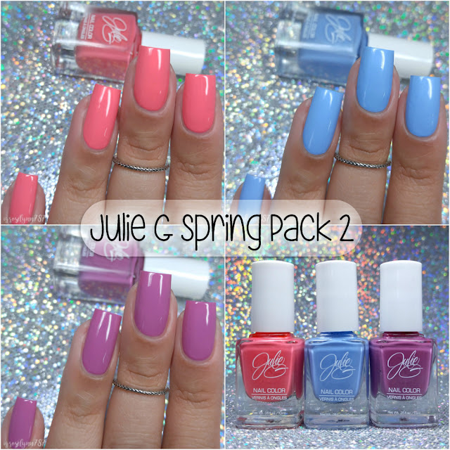 Julie G Nail Polish | Spring Pack 2