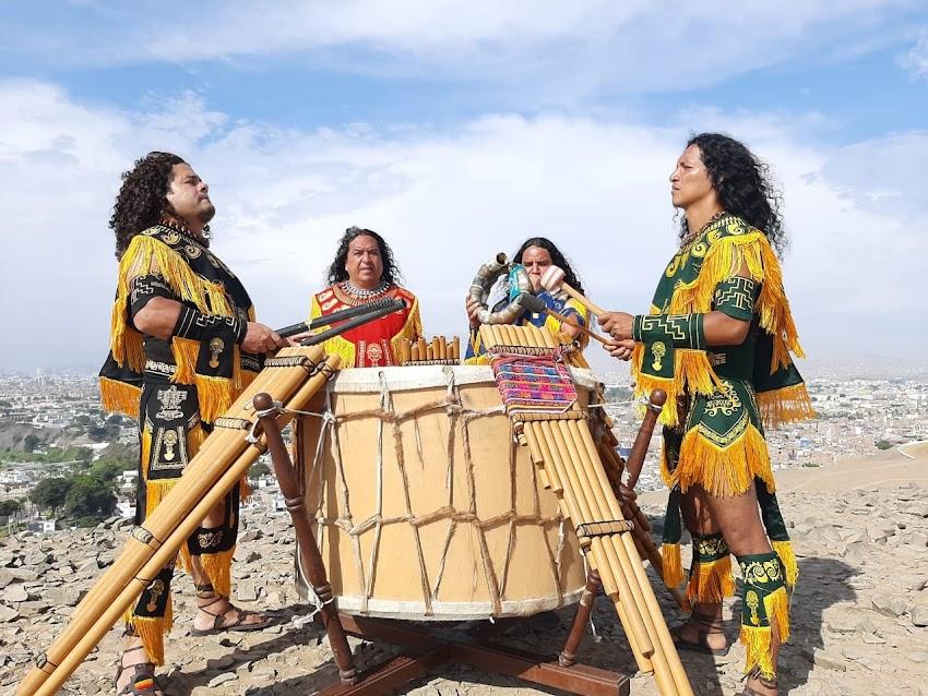 Grupo Alborada hace videoclip en Cascadas de Cochecorral - Cajabamba